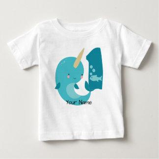 T-shirt Pour Bébé Ęr anniversaire de Narwhal