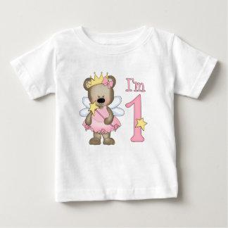 T-shirt Pour Bébé Ęr anniversaire de princesse Bear