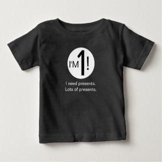 T-shirt Pour Bébé ?ère pièce en t d'anniversaire