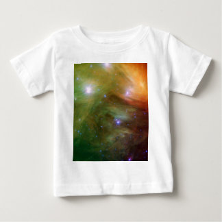 T-shirt Pour Bébé Étoiles de Pleiades dans SSC2007 infrarouge 07A
