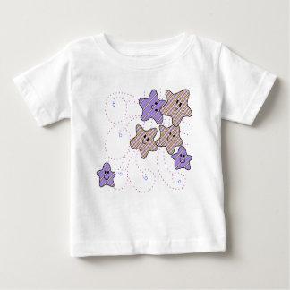 T-shirt Pour Bébé Étoiles lunatiques