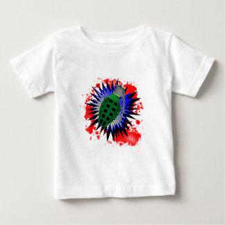 T-shirt Pour Bébé Exclamation comique de grenade