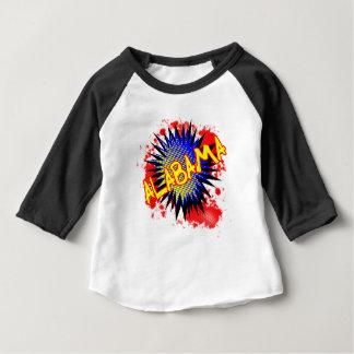 T-shirt Pour Bébé Exclamation comique de l'Alabama