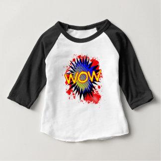 T-shirt Pour Bébé Exclamation comique de wow