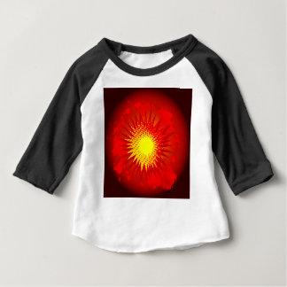 T-shirt Pour Bébé Explosion rouge de bande dessinée