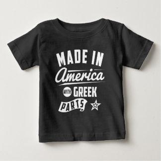 T-shirt Pour Bébé Fabriqué en Amérique avec les pièces grecques
