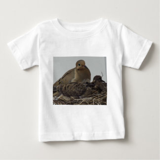 T-shirt Pour Bébé Famille de deuil de colombe