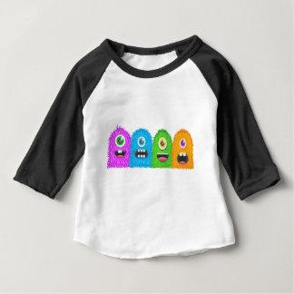 T-shirt Pour Bébé Famille de monstre
