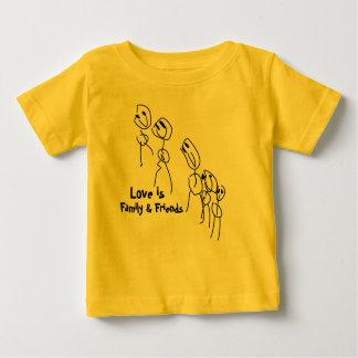 T-shirt Pour Bébé Famille et amis