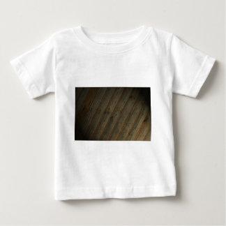 T-shirt Pour Bébé Faux grain en bois abstrait