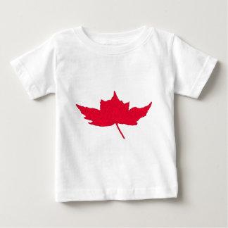 T-shirt Pour Bébé Feuille d'érable canadienne