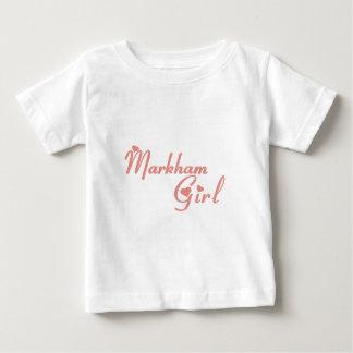 T-shirt Pour Bébé Fille de Markham