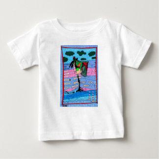 T-shirt Pour Bébé Flamant