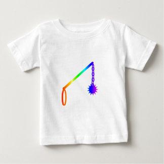 T-shirt Pour Bébé Fléau d'arc-en-ciel