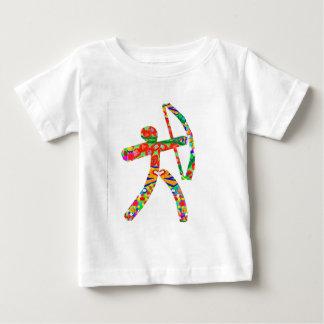 T-shirt Pour Bébé Flèche d'arc de TIR À L'ARC