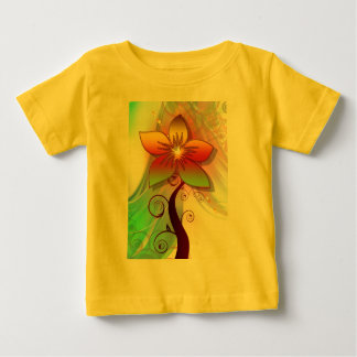 T-shirt Pour Bébé Fleur assez lunatique
