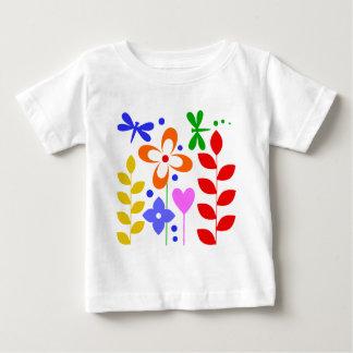 T-shirt Pour Bébé Fleurs lunatiques