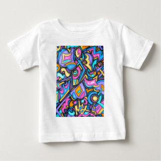 T-shirt Pour Bébé Formes lunatiques audacieuses colorées géniales