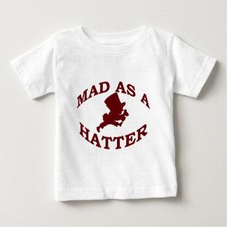 T-shirt Pour Bébé Fou en tant que chapelier