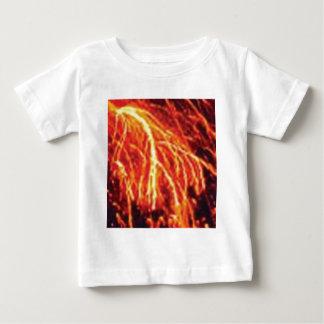 T-shirt Pour Bébé foudre de lave