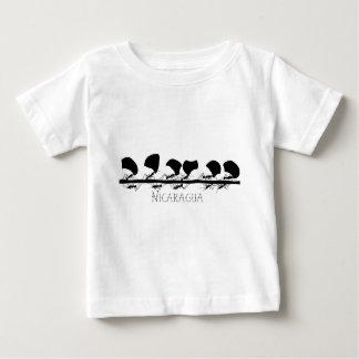 T-shirt Pour Bébé Fourmis Nicaragua de Leafcutter