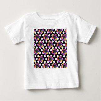 T-shirt Pour Bébé Français et points de pensée