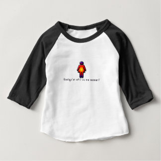 T-shirt Pour Bébé Français-Maman