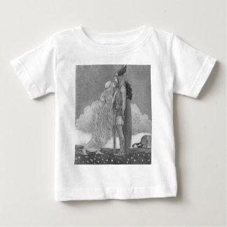 T-shirt Pour Bébé Freja et Svipdag par John Bauer