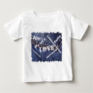 T-shirt Pour Bébé Fruits Esprit écriture blanche