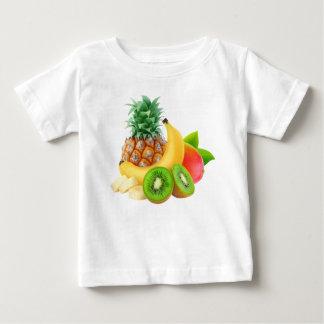 T-shirt Pour Bébé Fruits tropicaux