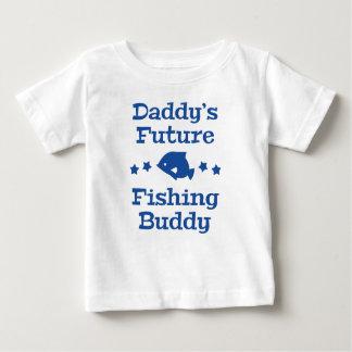 T-shirt Pour Bébé Futur ami de la pêche du papa