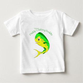 T-shirt Pour Bébé Futur ami de pêche de Mahi