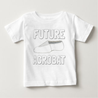 T-shirt Pour Bébé FUTUR danseur de gymnaste de chaussure de danse