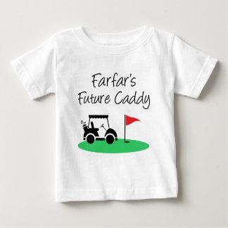 T-shirt Pour Bébé Futur petit-enfant de Suédois du chariot de Farfar