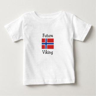 T-shirt Pour Bébé Futur Viking