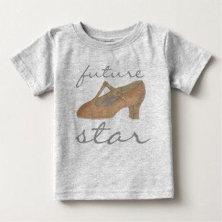 T-shirt Pour Bébé FUTURE chaussure de théâtre de danseur de danse de
