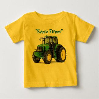 T-shirt Pour Bébé Future chemise de bébé d'agriculteur