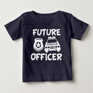 T-shirt Pour Bébé Future chemise drôle de bébé de policier