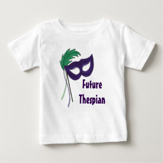 T-shirt Pour Bébé Future pièce en t dramatique de bébé de masque de