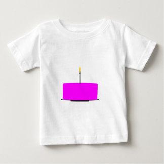 T-shirt Pour Bébé Gâteau d'anniversaire
