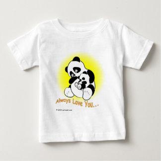 T-shirt Pour Bébé gigglePanda pour le jour de mère