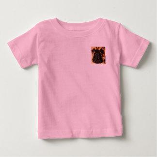 T-shirt Pour Bébé grand bouledogue français brun moderne