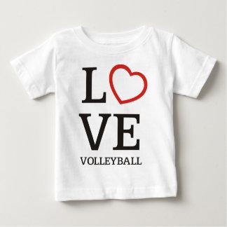 T-shirt Pour Bébé Grand volleyball d'AMOUR