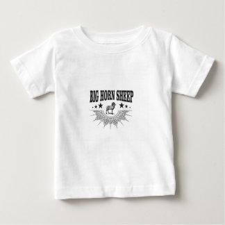 T-shirt Pour Bébé grands moutons à cornes de chasse