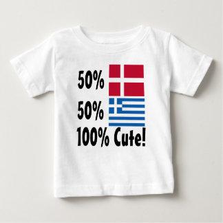 T-shirt Pour Bébé Grec du danois 50% de 50% 100% mignon