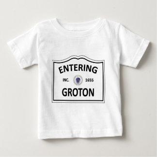 T-shirt Pour Bébé Groton, la masse