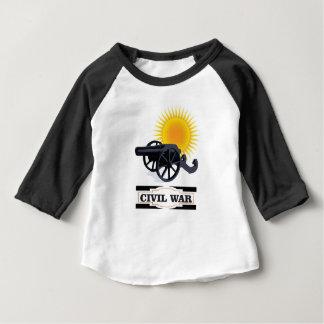 T-shirt Pour Bébé guerre civile du soleil de cannin