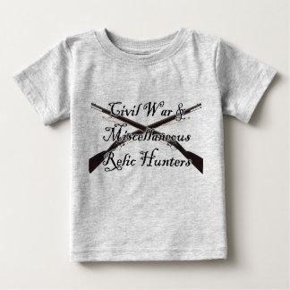 T-shirt Pour Bébé guerre civile et chemise diverse de bébé de