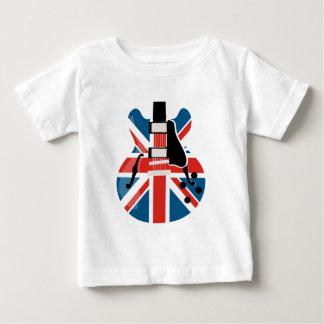 T-shirt Pour Bébé Guitare de Britpop