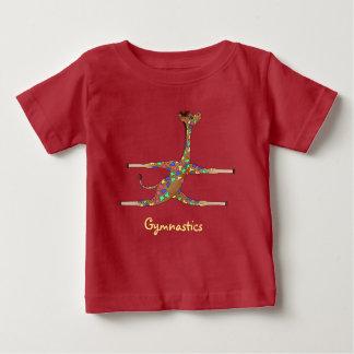 T-shirt Pour Bébé Gymnastique d'arc-en-ciel par Happy Juul Company